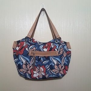 Relic by Fossil Tropical Canvas Shoulder bag